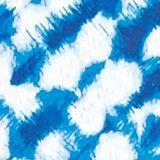 Women's T-shirts: Blue Combo Kim Rogers Short Sleeve Crew Neck Tee