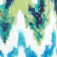 Women's T-shirts: Turquoise/Green Kim Rogers Short Sleeve Tee
