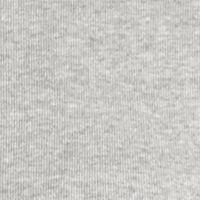 Kim Rogers Women Sale: Heather Gray Kim Rogers Long Sleeve 1x1 Rib Mock Neck Shirt