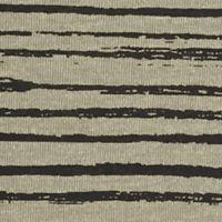 Women's T-shirts: Olive Heather/Black Kim Rogers V-Neck Stripe Tee