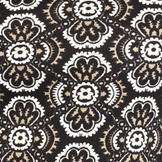 Kim Rogers: Khaki/Black Kim Rogers Bio Polish Crew Knit Top