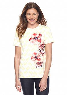 Kim Rogers Floral Top