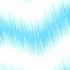 Womens Tees: Turquoise Combo Kim Rogers Subsonic Print V-Neck Tee
