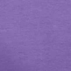 St. Patricks Day Womens Clothing: Pansy Purple Kim Rogers Solid Crew-Neck Tee