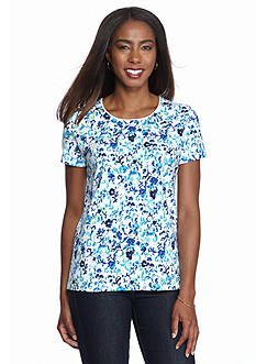 Kim Rogers Floral Top