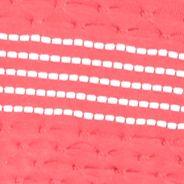 Kim Rogers Women Sale: Guavatini/White Kim Rogers Split Neck Textured Tank