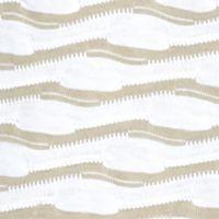 Women's T-shirts: Khaki/White Kim Rogers Boat Neck Tee