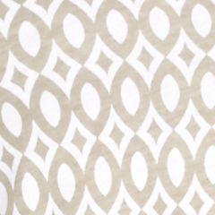 Kim Rogers® Women Sale: Khaki/White Kim Rogers Net Geometric Print Henley Top