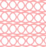 Kim Rogers Women Sale: Coral/White Kim Rogers Three Quarter Sleeve Rib Knit V-Neck Top