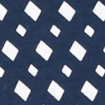 Kim Rogers Women Sale: Navy Combo Kim Rogers Long Sleeve Check Pattern Crew Neck Top