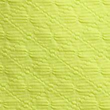 Kim Rogers Women Sale: Ondina Lime Kim Rogers Solid Square Neckline Texture Top