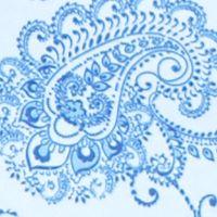 Women's T-shirts: Blue Combo Kim Rogers Paisley Print Tee