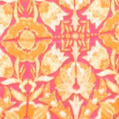 Kim Rogers Women Sale: Fuschia/Orange Kim Rogers Embroidered Yoke Garden Print Tank