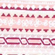 Kim Rogers Women Sale: Guava/Coral Kim Rogers Printed Sleeveless Peasant Top