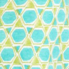 Kim Rogers Women Sale: Turquoise/Yummy Green Kim Rogers Mosaic Print Knit Tank