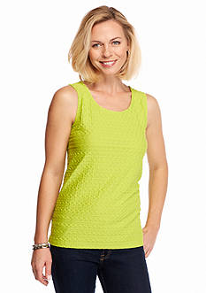 Kim Rogers Solid Textured Swing Tank
