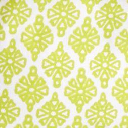 Kim Rogers Women Sale: White / Yummy Green Kim Rogers Short Sleeve Peasant Allie Geo Knit Top