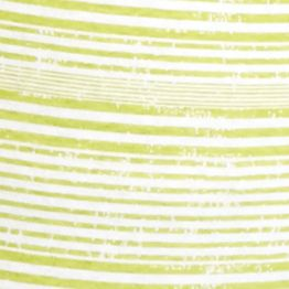Women's T-shirts: Yummy Green/White Kim Rogers Striped Sweetheart Neck Tee