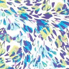 Kim Rogers Women Sale: Turquoise/Purple Kim Rogers Floral Breeze Tee