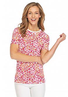 Kim Rogers Floral Breeze Tee