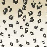Women's T-shirts: Khaki Combo Kim Rogers Leopard Print Tee