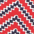Women's T-shirts: Red/Navy Kim Rogers Ultimate Chevron Tee