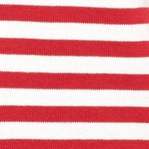 Kim Rogers Sweaters: Red Mercury/White Kim Rogers Boatneck Sweater