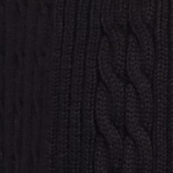Kim Rogers Women Sale: True Black Kim Rogers Open Cardigan Cable Solid Top
