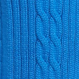Kim Rogers Women Sale: Boggs Blue Kim Rogers Open Cardigan Cable Solid Top