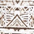 Exotic Clothing: Khaki Combo Kim Rogers Plus Size Crew Neckline Animal Tribe Print Top