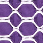 Kim Rogers Women's Plus Sale: Grape/White Kim Rogers Plus Size Three Quarter Sleeve Horseshoe Knit Top