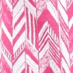 Kim Rogers Women's Plus Sale: Fuchsia/White Kim Rogers Plus Size Embroidered Yoke Herringbone Print Tank