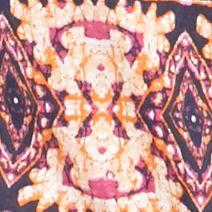 Kim Rogers Women's Plus Sale: Fuchsia/Orange Kim Rogers Plus Size Tribal Print Embroidered Tank