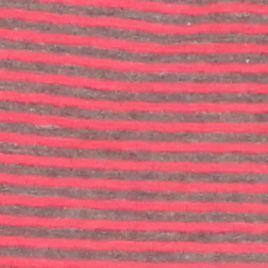 Kim Rogers Women's Plus Sale: Pink/Charcoal Kim Rogers Double Knit Boat Neck Stripe Top