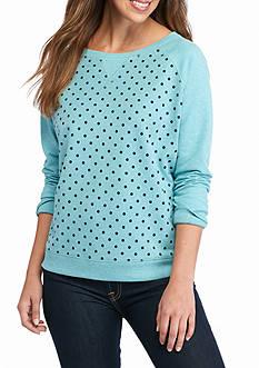 Kim Rogers French Terry Crew Neck Sweatshirt