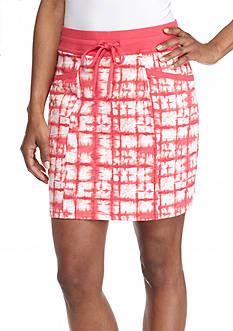 Kim Rogers Knit Tie Dye Skort