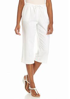Kim Rogers Linen Crop Pants