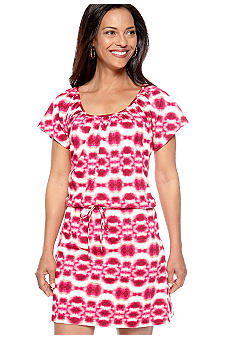 Kim Rogers Summer Tie-Dye Dolman Sleeve Dress