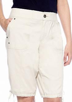 Kim Rogers® Knit Waist Bermuda Short