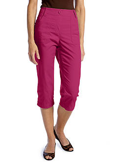 Kim Rogers® Knit Waist Pull-On Capri