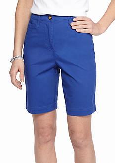 Kim Rogers Basic Pocket Bermuda Shorts