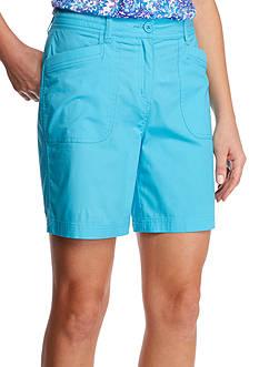 Kim Rogers Knit Trim Shorts