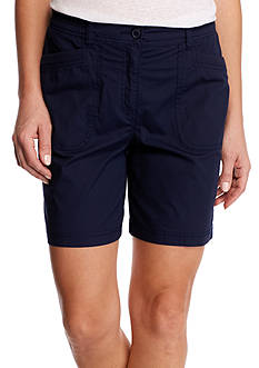 Kim Rogers Knit Trim Shorts