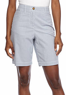 Kim Rogers Basic Pocket Stripe Bermuda Short