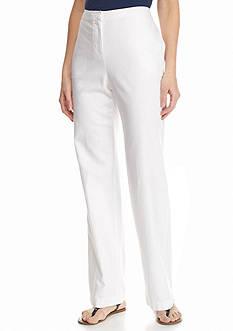 Kim Rogers Woven Linen Pants