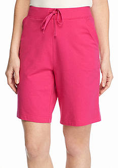 Kim Rogers Knit French Terry Shorts