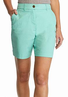 Kim Rogers Diamond Print Comfort Waist Shorts