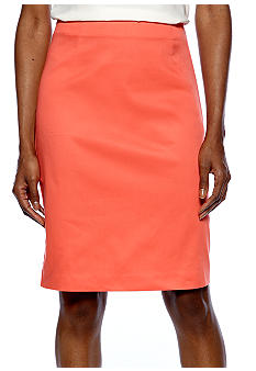 Sunny Leigh Solid Pencil Skirt
