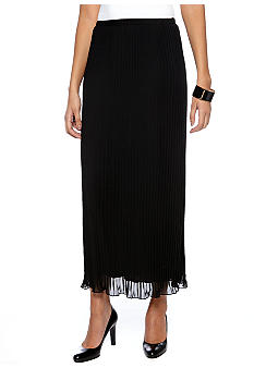 Sunny Leigh Maxi Pleated Skirt