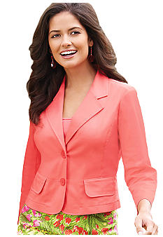 Sunny Leigh Two Button Blazer